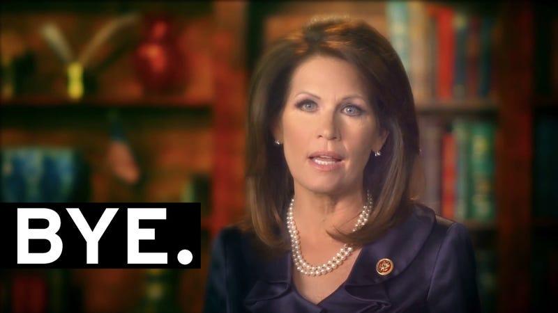 Flake Flakes: Michele Bachmann Won't Run for Re-election