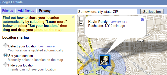 Google Maps Finds Your Nearby Friends with Latitude