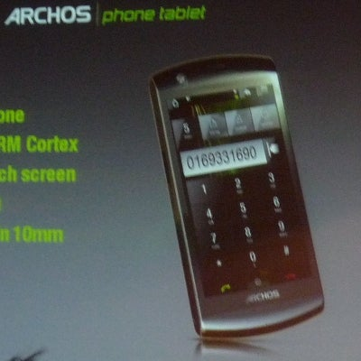 Archos Phone Tablet May Be Too Big for Your Pockets Unless You Are Andre the Giant