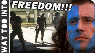 """CoD: AW Nonlinear Emergent Gameplay """"FREEDOM!!"""""""