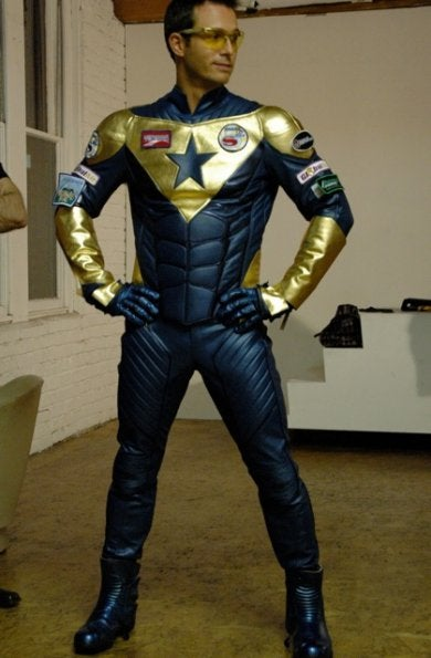 Smallville Booster Gold Pictures