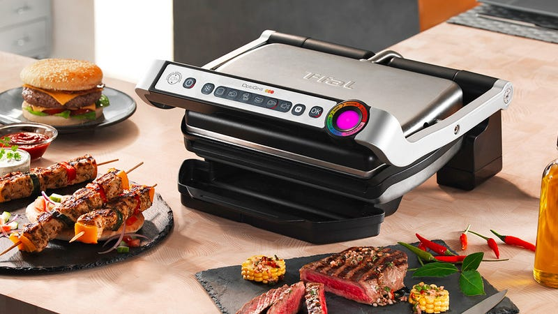 An Intelligent Indoor Grill That Knows Well-Done From Rare