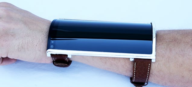 Flexy, Wrist-Worn Concept Phone: A Real Life Buzz Lightyear Communicator