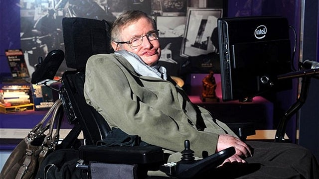 Scientists are working on a device to help Stephen Hawking communicate through brain waves