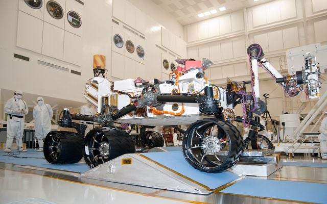 NASA's Curiosity Rover Will Explore Mars—Like a Boss