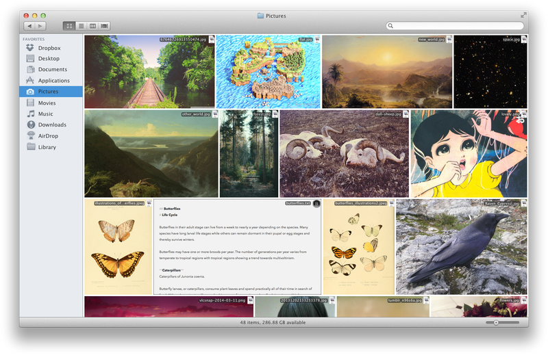 OS X Finder Extension Concept