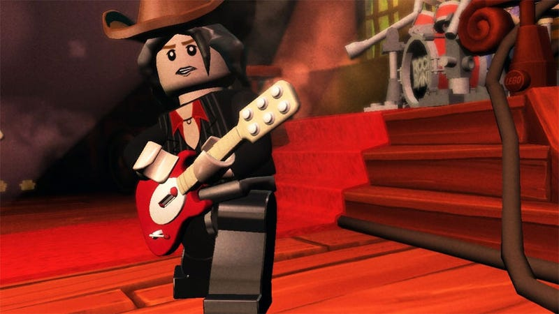 New LEGO Rock Band Details Reveal Giant Robot Battles