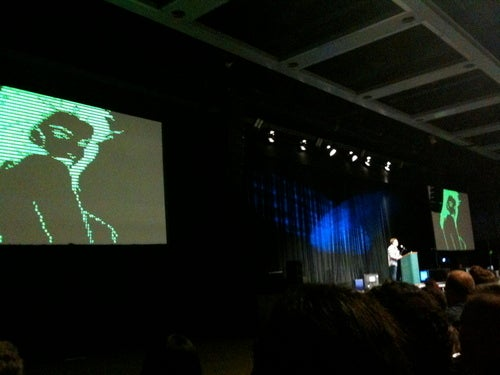 Scene From PAX: Ron Gilbert Inspires