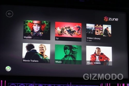 Zune Music Streams Music on Xbox 360
