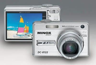 Minox DC 8122 Digital Camera With 8.1-Megapixel Image Sensor