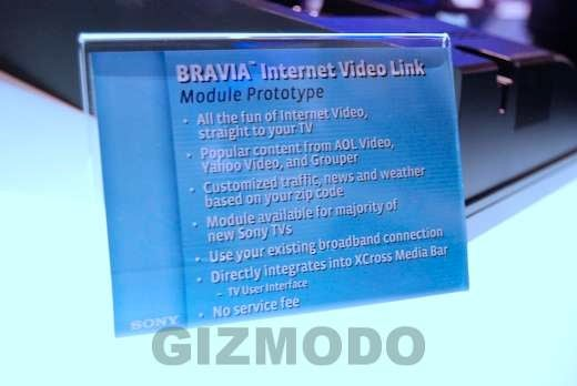 Gallery and Hands On: Sony BRAVIA Internet Video Link Box