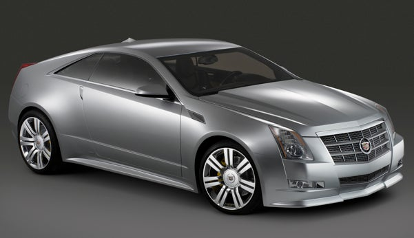 Cadillac CTS Coupe Concept Press Photos Finally Arrive