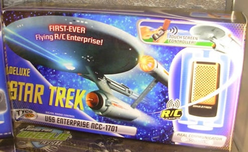 Touch Screen RC Star Trek Enterprise Boldly Goes Where No RC Vehicle Has Gone Before