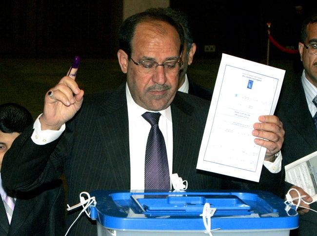 Iraqi Prime Minister Won't Run Again, Hopes to Avoid Dictator Status