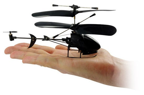 3-Channel Black Stealth R/C Chopper For $30