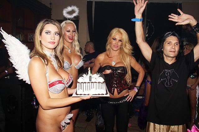 Corey Feldman's Horrific, Depressing, Near-Nude Birthday Party