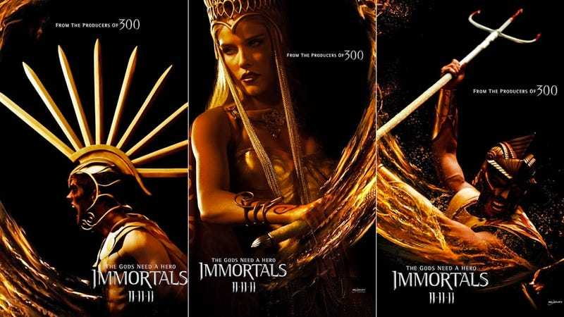 Tarsem Singh's Immortals is the lovechild of Zack Snyder's 300 and The Cell