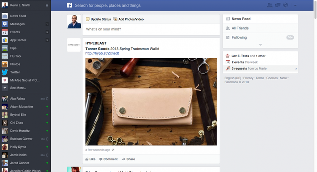 Facebook Ditched a Fancy Redesign Because Your Computer Sucks