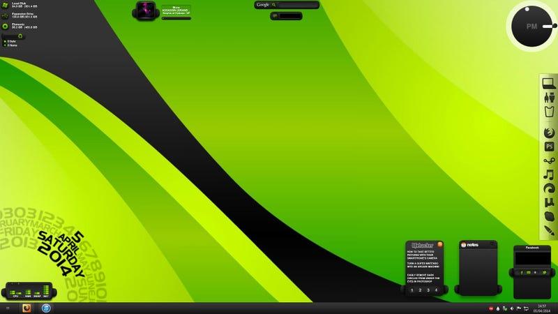 The Green Bubble Desktop