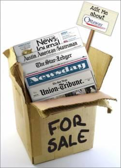 Wanna Buy A Newspaper? Anybody?
