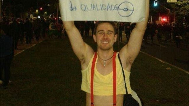 Pokemon Cosplay Wins At The...Brazilian Protests
