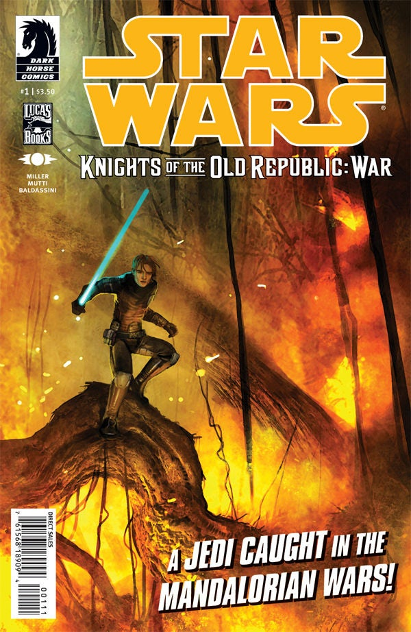 Contest: Write Force-ful Dialogue for This Star Wars: The Old Republic Comic and Win The First Issue Free