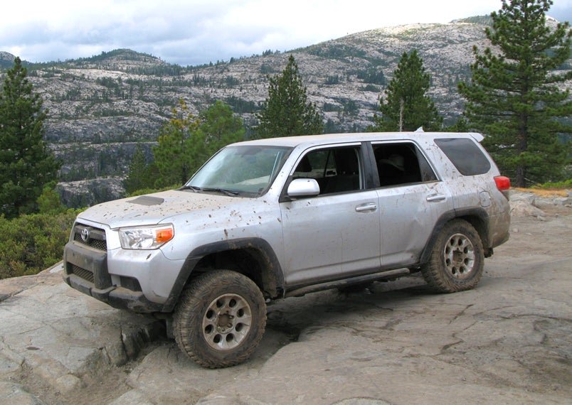 2010 Toyota 4runner More Power More Dents