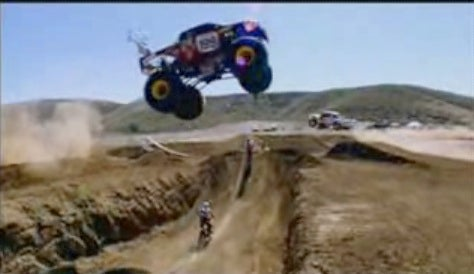Monster Trucks and Motorcycles Stage Hard Rock Aerial Ballet