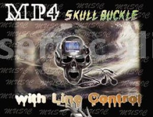 Skull MP3 Player is Classy, Scary