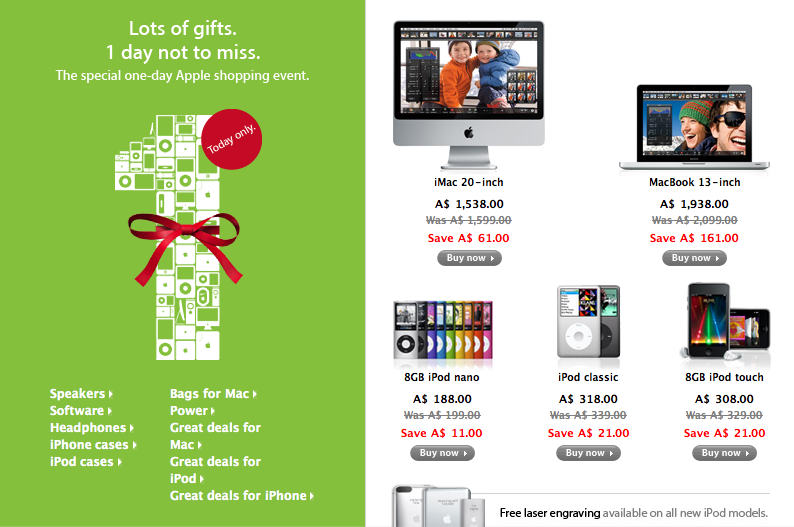 Apple Black Friday Deals Include Some Decent Third-Party Discounts