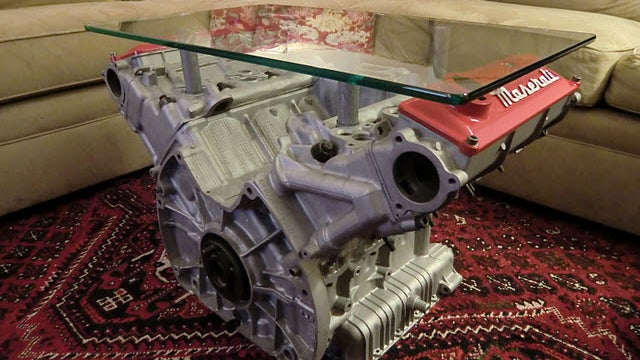 Ten engines that would make great coffee tables