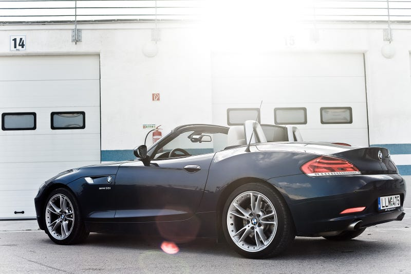 Trackside With the New BMW Z4