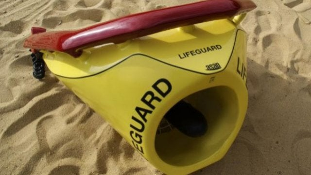 The Next Time You're Drowning, You'd Better Hope One of These Is Nearby