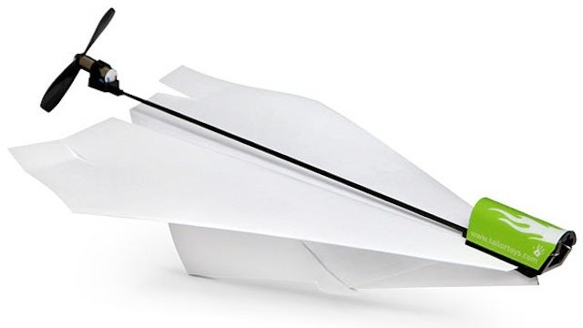 This Electric Propeller Powers Paper Planes