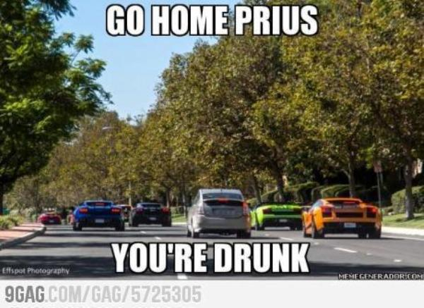 Meme Of The Day: Drunk Prius