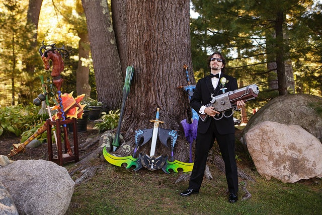 World of Warcraft-Themed Weddings Sure Look Fun