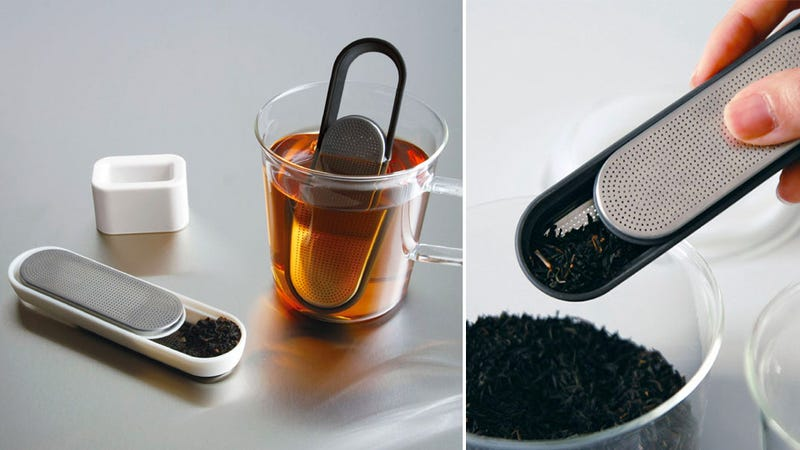 A Steeping Scooping Tea Strainer That Cuts Down On Dirty Dishes