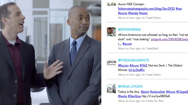 Acura Apologizes For Light-Skinned Language Used On Casting Sheet
