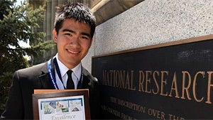 High Schooler Makes Cystic Fibrosis Breakthrough