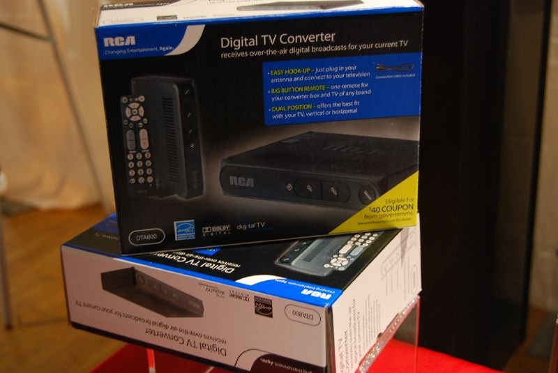 RCA DTA800 Digital Converter for Analog TVs Updated, Delayed