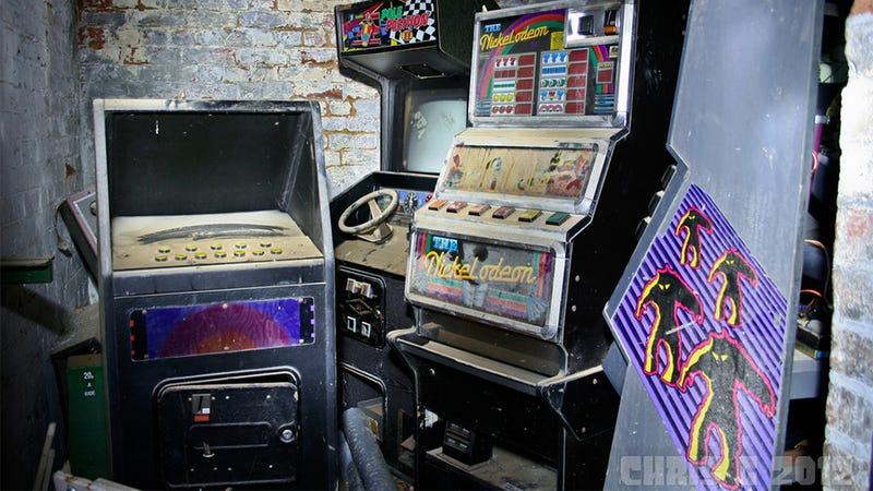 These Arcade Games Have Seen Better Days