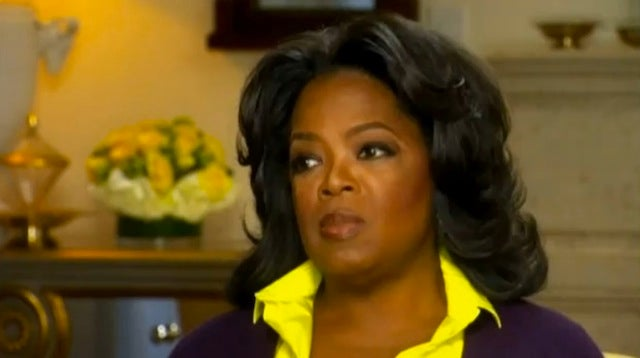 Oprah Says Teen Pregnancy Drove Her To Consider Suicide