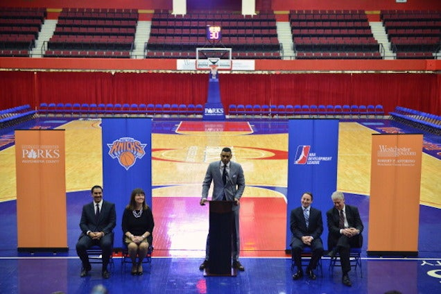 Knicks File For Trademarks On Five Potential D-League Team Names