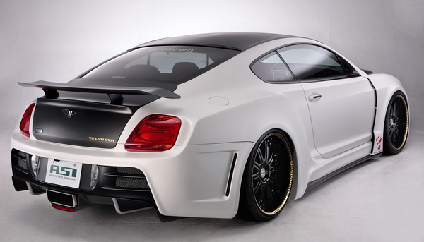Tetsu GTR: Japanese Tuner ASI's Bentley Continental GT