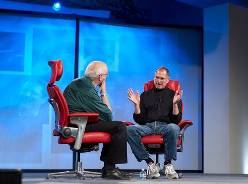 So Awkward: Steve Jobs and Eric Schmidt's Body Language Analyzed