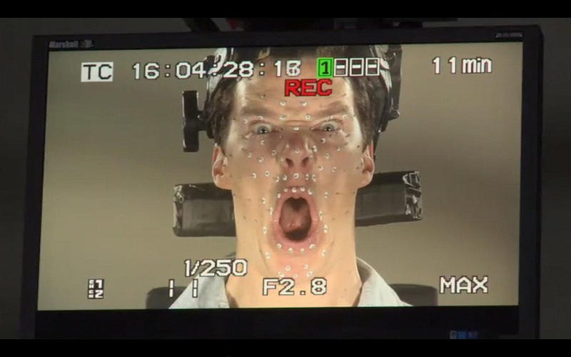 Here's Benedict Cumberbatch doing mo-cap as The Hobbit's Smaug