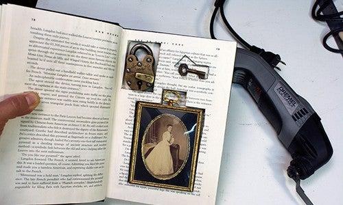 DIY Secret Hollow Book Redux