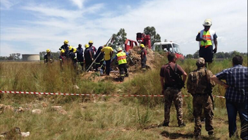 Trapped South African Miners Refuse to Be Rescued