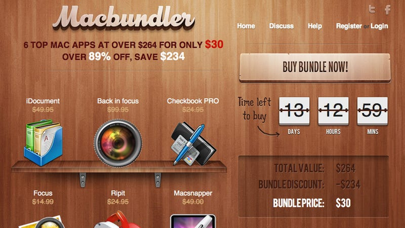 MacBundler Summer Bundle Offers $264 Worth of Mac Apps for $30