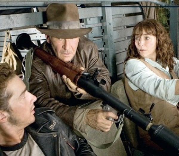 Indiana Jones And The Really Big Gun